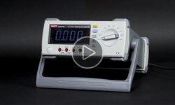 Видеообзор настольного цифрового мультиметра UNI-T UTM18803 (UT8803)