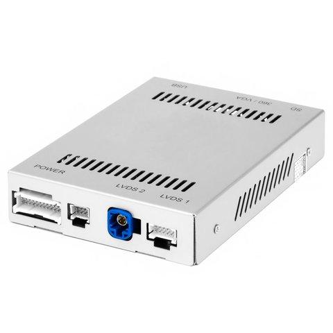 Адаптер із функцією CarPlay для під'єднання камер в Mercedes Benz із системою NTG5.0 5.1