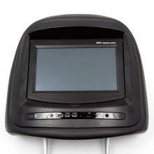 "7"" Car Headrest TFT LCD Touchscreen Monitor with DVD Player - Short description"