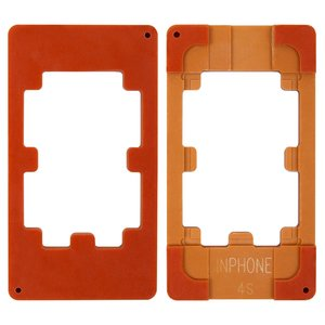 LCD Module Mould for Apple iPhone 4, iPhone 4S Cell Phones, (for glass gluing )