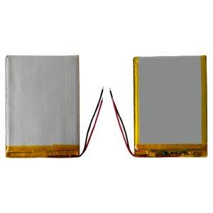 Battery, (90 mm, 58 mm, 5.4 mm, Li-ion, 3.7 V, 3100 mAh)
