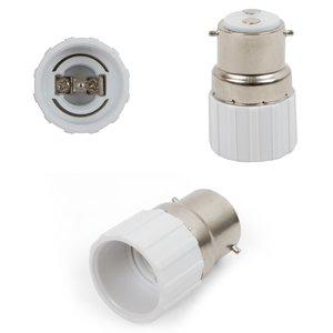 Base Adapter (B22 to E14, white)