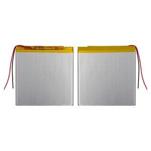 Battery, (93 mm, 95 mm, 2.6 mm, Li-ion, 3.7 V, 2500 mAh)