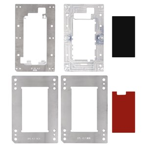 LCD Module Mould for YMJ-3-01, Apple iPhone 6S Cell Phone, (for OCA film gluing,  to glue glass in a frame, set)
