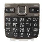 Teclado puede usarse con Nokia E55, negra, caracteres rusos