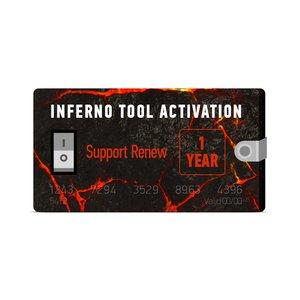 1 год поддержки для Inferno (продление)