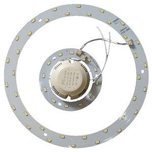 Комплект для сборки светодиодного светильника 24 Вт (естественный белый, круглый, 4000-4500 К)