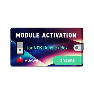 Активация модуля Huawei на 2 года для донгла NCK / программатора NCK
