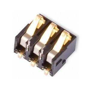 Коннектор батареи для мобильных телефонов Nokia 1100, 1110, 1112, 3220, 3230, 6020, 6030, 6100, 6101, 6131, 6230, 6230i, 6300, 7610