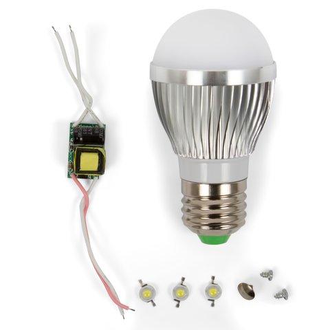 Комплект для збирання світлодіодної лампи SQ Q01 3 Вт природний білий, E27