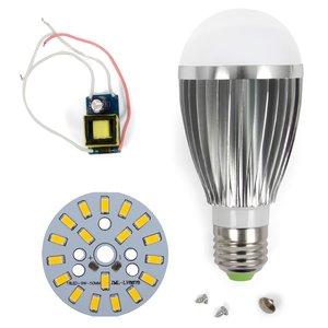 Комплект для збирання світлодіодної лампи SQ-Q03 9 Вт (теплий білий, E27)