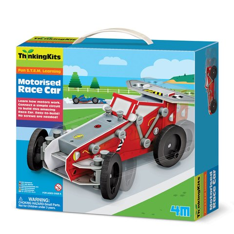 STEAM-набір 4М Моторизована гоночна машинка 00-03404