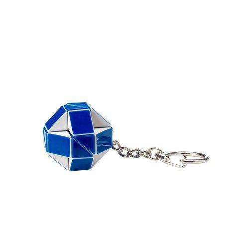 Мини-головоломка Кубик Рубика Rubik's Змейка (бело-голубая)