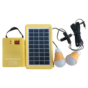 DC Portable Solar Power System, 3 W, 12 V / 3 Ah, Poly 18 V / 3 W