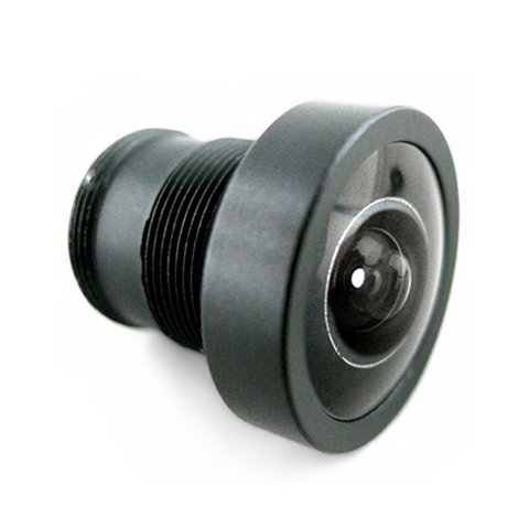 Replaceable Wide Angle IP Camera Lens 150°, M12 Thread